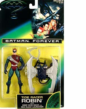 Batman Forever Tide Racer Robin w/ Deep Dive Gear and Sea Claw Launcher Moc - 1