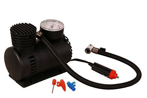 250 PSI 12-volt Air Compressor W/air Pressure Gauge Included/ 20