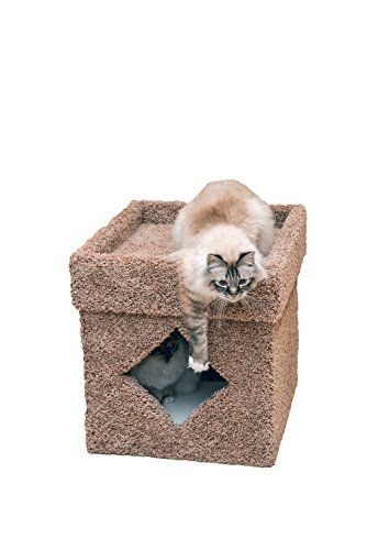 Miller's Cats 1243 Litter Box Hideaway Cat Furniture and Enclosure, Brown, 21