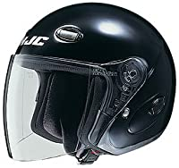 HJC Helmets CL-33 Helmet (Black, Large) from HJC Helmets