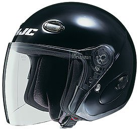 HJC Helmets CL-33 Helmet (Black, X-Large) by HJC Helmets