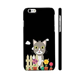 Colorpur Cat In The Garden With Flowers Artwork On Apple iPhone 6 Plus / 6s Plus Cover (Designer Mobile Back Case) | Artist: Torben