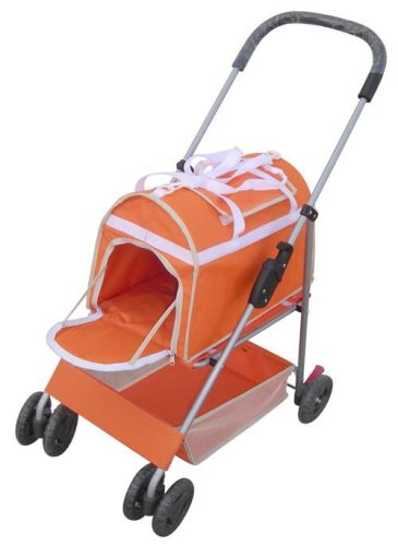 Deluxe 3 in 1 Luxury Pet Stroller Carrier