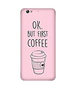 First Coffee Gionee S6 Case