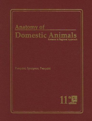 Anatomy of Domestic Animals: Systemic & Regional...
