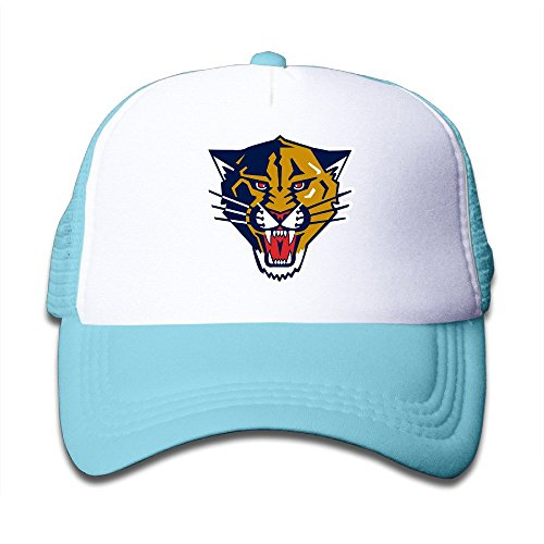 skyblue-enlove-florida-panthers-youth-adjustable-baseball-trucker-hat-for-children-one-size