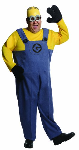 Rubie's Men's Plus Size Despicable Me 2 Dave Minion Costume