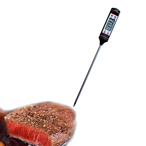Multifunzione Digitale Termometro da Cucina Cibi Bevande Barbecue 4 tasti