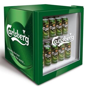 carlsberg mini fridge large appliances. Black Bedroom Furniture Sets. Home Design Ideas