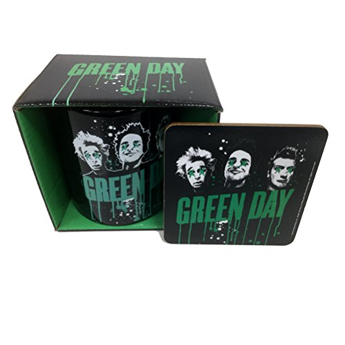 Official Green Day - Drips - Tazza e Sottobicchiere