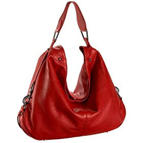 Rebecca Minkoff Nikki Hobo,Red,one size