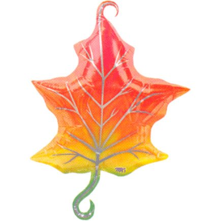 Fall Leaves Linking Shape (1 per package) - 1
