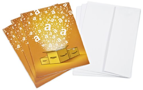 Amazon.com $10 Gift Cards – 3-pack with Greeting Cards (Classic) image