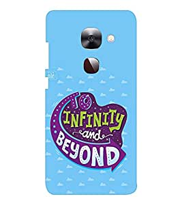 EPICCASE To infinity and beyond Mobile Back Case Cover For LeEco Le Max2 (Designer Case)