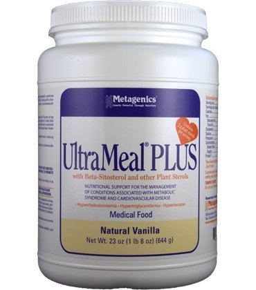 Metagenics Ultrameal Plus Vanilla 23Oz/644 G front-742179