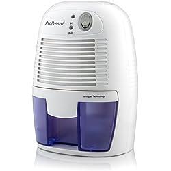 ProBreeze™ Mini Deumidificatore d'aria da 500ml Compatto e Portatile per Muffa e Umidità in Casa, Cucina, Camera da Letto, Caravan, Ufficio, Garage
