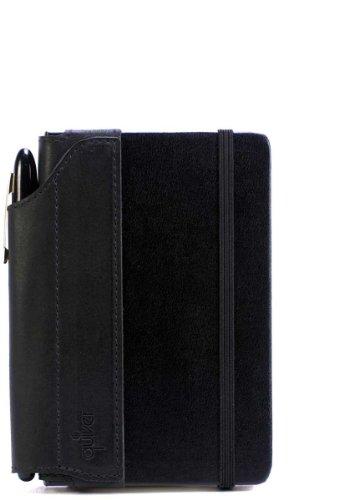 Single-Pen Quiver For Pocket Moleskine Hard-Cover (A6 Size) Notebooks, Black
