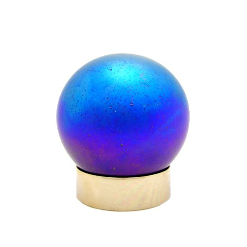 Keepsake Urns: Art Glass Sphere - Purple, Small