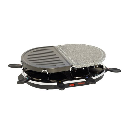 Gourmet Raclette & Stone Grill - Stone & Raclette Grill for 8 Persons