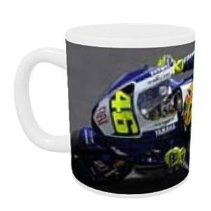 Moto GP - Valentino Rossi - Mug - Standard Size: Amazon.co