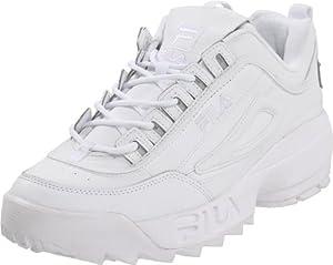 Fila Men's Disruptor II Sneaker,White/White/White,9 M US