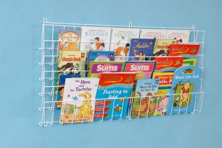 Childrens Horizontal Wall Bookrack-A1175