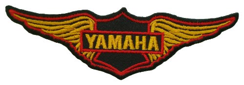 Yamaha Twin Wing Vintage Biker Motocycles Symbol Jackets BY09 Patches