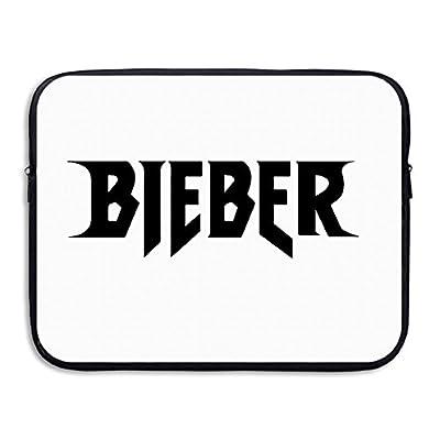 "Doraemons Justin Bieber Purpose World Tour Bieber Neoprene Notebook Sleeve Black For 13"" Or 15"" Laptop"