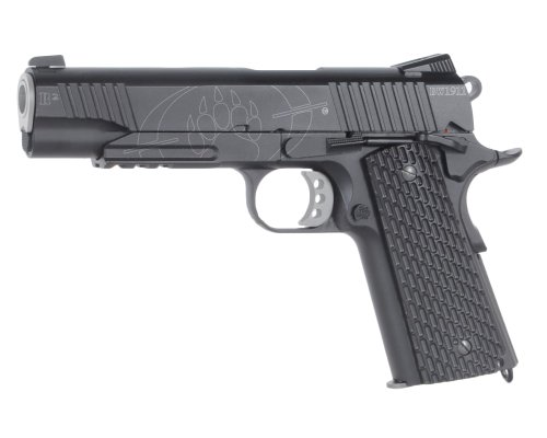 airsoft pistolet a billes blackwater bw1911 r2 co2 full metal semi auto baxs cybergun blowback. Black Bedroom Furniture Sets. Home Design Ideas