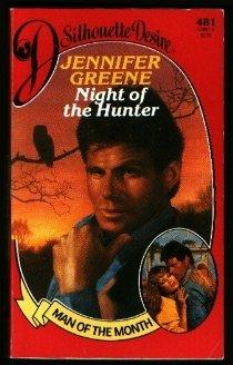 Night Of The Hunter (Man of the Month) (Silhouette Desire #481), Jennifer Greene