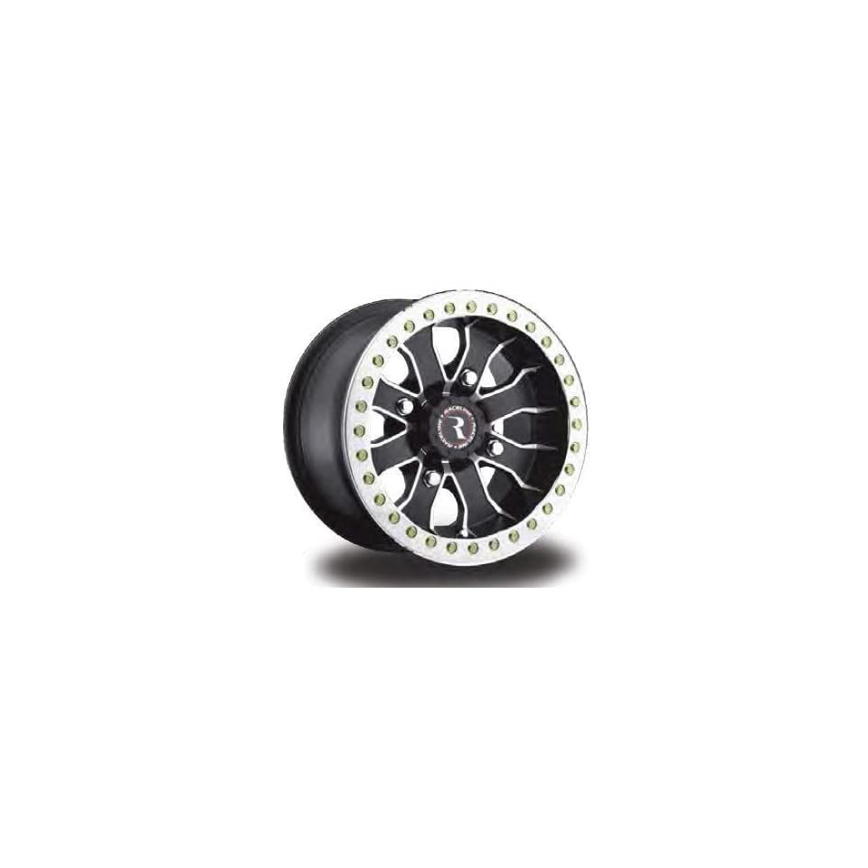 Raceline RT Mamba Beadlock 14 Black Wheel / Rim 4x110 with a 25mm Offset and a Hub Bore. Partnumber A7147011 52