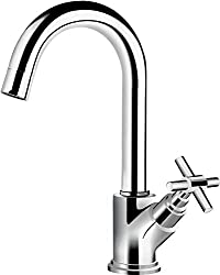 Hindware F120025CP Axxis Sink Tap With Swivel Spout Table Mounted (Chrome)