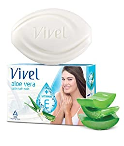 Vivel Aloe Vera Soap 100 g x 4