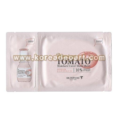 スキンフード プレミアム トマト モイスチャー カバー マスクシート