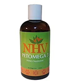 buy Pet Omega 3 Supplement For Dogs And Cats Health And Wellbeing. Human Grade Quality | Nhv Petomega-3