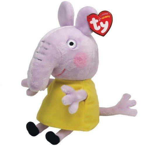 Peppa Pig Emily Elephant - Peluche de 16 cm