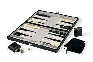Mainstreet Classics 18-Inch Backgammon Set