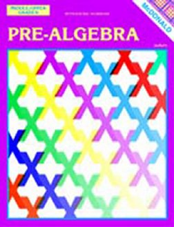 Mcdonald Publishing MC-R470 Pre-algebra Gr 6-9