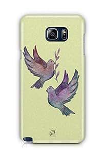 YuBingo Flying Birds Mobile Case Back Cover for Samsung Note 5