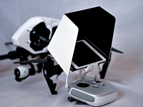 Summitlink® 10 Inch iPad SunShade Sun Hood White for DJI Phantom 3