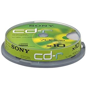 Sony CDR 10 spindle