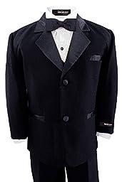 Gino Giovanni Usher Tuxedo Boy Black From Baby to Teen (10)