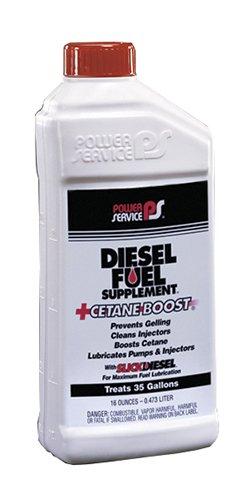 Power Service 01016-09 +Cetane Boost Diesel Fuel Supplement - 16 oz.