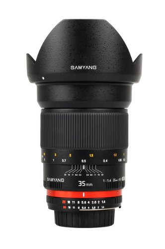 SAMYANG 35 mm f / 1.4 ED AS UMC Wide-angle Lens
