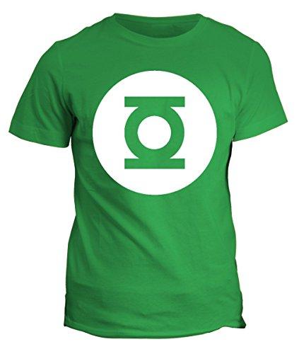 Tshirt Green Lantern - Sheldon - serie tv-in cotone by Fashwork