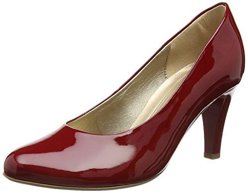 gabor shoes damen pumps rot 75 cherry absatz. Black Bedroom Furniture Sets. Home Design Ideas