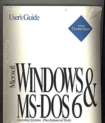 MS-DOS 6 & Windows Operating Systems