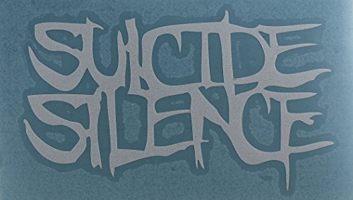 Licenses Products Suicide Silence Logo Rub On Sticker, White