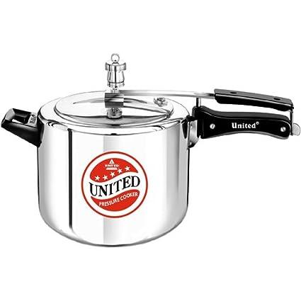 United Aluminium 12 L Pressure Cooker (Inner Lid)