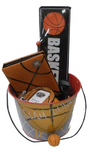 Basketball Lover's Gift Basket - for Get Well, Birthday, Easter, Christmas, or Other Special Ocassion